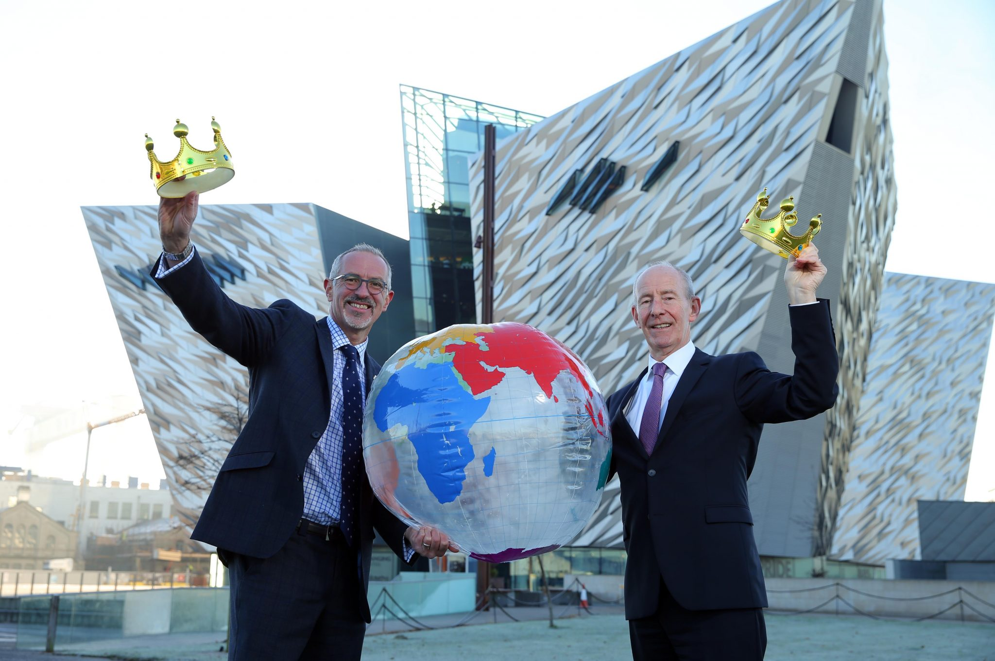 "Titanic Belfast named ""king of the world""!"