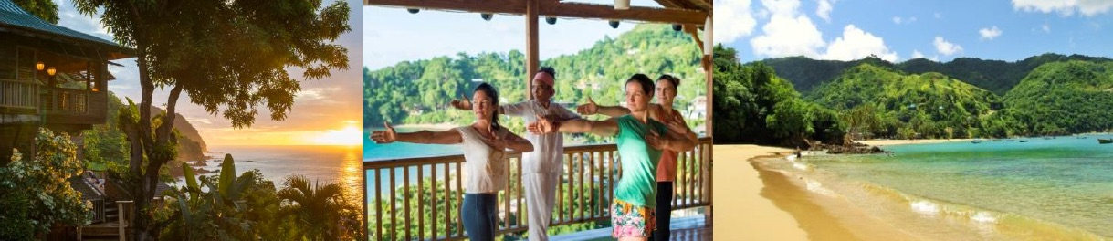Castara Retreats, Tobago offers a selection of unique & meaningful wellness and yoga retreats on the beautiful unspoilt island of Tobago