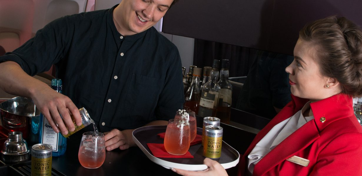 Virgin Atlantic teams up with Bacardi to introduce award winning bartender on flights