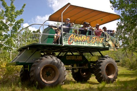 Gatorland, Orlando – Grand Opening of New Attraction – Stompin' Gator Off-Road Adventure