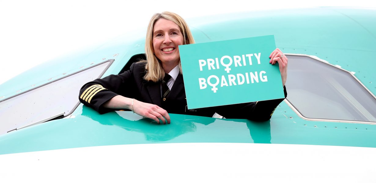 Aer Lingus 'gets on board' with International Women's Day!