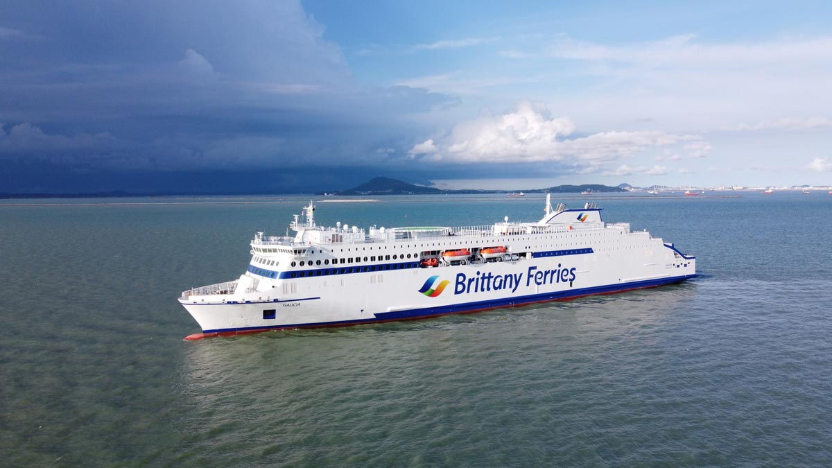 Brittany ferries Galicia