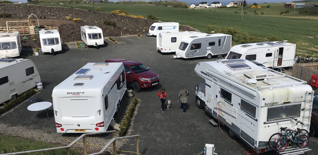 North Antrim Coasts Newest Caravan site and Holiday Park