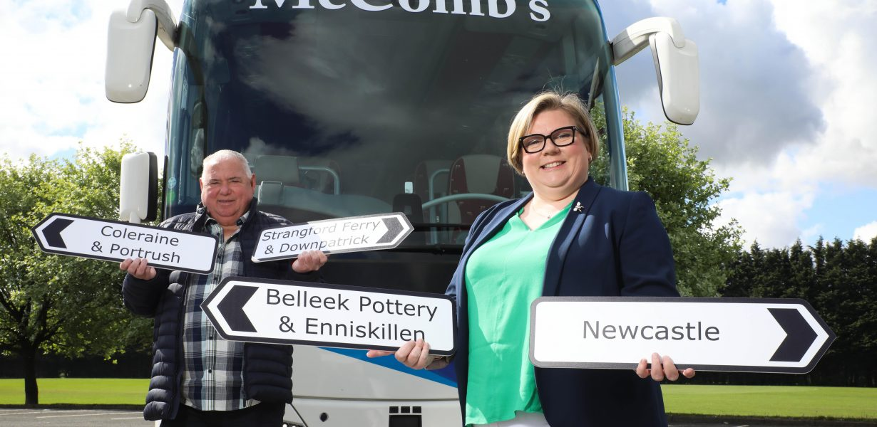 MCCOMB'S COACH TRAVEL IS BACK ON THE ROAD WITH NEW SUMMER DAY TRIPS